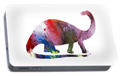 Brontosaurus Portable Battery Charger by Mordax Furittus