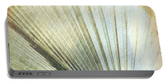 Bronze Blue Palm Frond Lh Portable Battery Charger