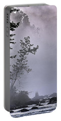 Portable Battery Charger featuring the photograph Brooding River by Tom Cameron