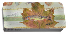 Brook Trout On Fly #2 Portable Battery Charger