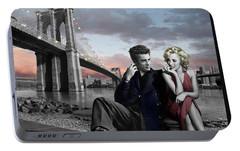 Brooklyn Bridge Portable Battery Charger by Chris Consani