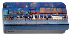 Brooklyn Bridge Fireworks Portable Battery Charger