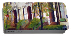 Brooklyn Brownstone Corridor 2 Portable Battery Charger