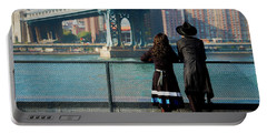 Portable Battery Charger featuring the photograph Brooklyn by Chris Lord