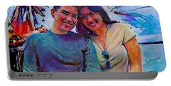 Brother And Sister Love Portable Battery Charger