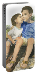 Brotherly Love Portable Battery Charger
