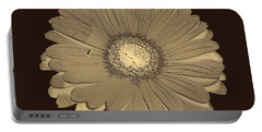 Brown Art Portable Battery Charger