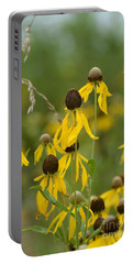 Portable Battery Charger featuring the photograph Brown-eyed Susan by Maria Urso