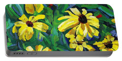 Brown-eyed Susans Portable Battery Charger