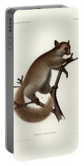 Brown Greater Galago Or Thick-tailed Bushbaby Portable Battery Charger