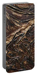 Brown Lace Portable Battery Charger