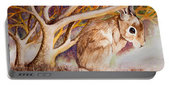 Brown Rabbit Portable Battery Charger