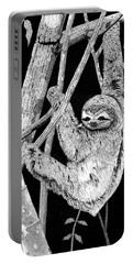 Brown-throated Three-toed Sloth Portable Battery Charger