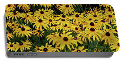 Browneyed Susans Portable Battery Charger