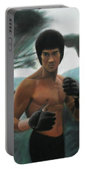Bruce Lee - The Concentration  Portable Battery Charger