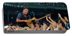 Bruce Springsteen At Fenway Park Portable Battery Charger