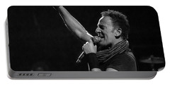 Bruce Springsteen In Cleveland Portable Battery Charger