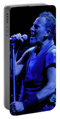 Bruce Springsteen-penn State 4-18-16 Portable Battery Charger by Jeff Ross