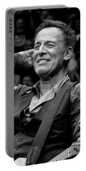 Portable Battery Charger featuring the photograph Bruce Springsteen - Pittsburgh by Jeff Ross