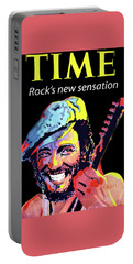 Bruce Springsteen Time Magazine Cover 1980s Portable Battery Charger