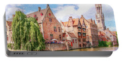 Bruges Canal Belgium Dwp-2611575 Portable Battery Charger
