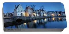 Magical Brugge Portable Battery Charger by JR Photography