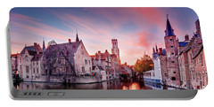 Bruges Sunset Portable Battery Charger