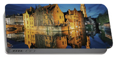 Brugge Portable Battery Charger by JR Photography