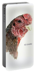 Bruno The Ko Shamo Rooster Portable Battery Charger