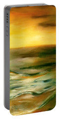 Brushed 4 - Vertical Sunset Portable Battery Charger