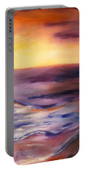 Brushed 6 - Vertical Sunset Portable Battery Charger