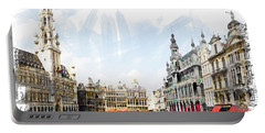 Brussels Grote Markt  Portable Battery Charger