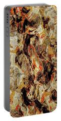 Portable Battery Charger featuring the digital art Brutal Explorer by Matt Lindley