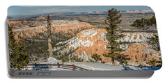 Bryce Amphitheater From Bryce Point Portable Battery Charger