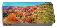 Portable Battery Charger featuring the photograph Bryce Canyon Artistry by John M Bailey