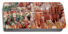 Bryce Canyon Hoodoos Portable Battery Charger by Nancy Landry