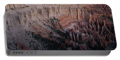 Portable Battery Charger featuring the photograph Bryce Canyon Sunrise by Kathleen Scanlan
