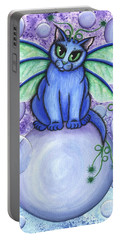 Bubble Fairy Cat Portable Battery Charger
