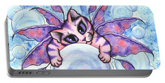 Bubble Fairy Kitten Portable Battery Charger