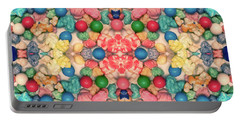 Portable Battery Charger featuring the digital art Bubble Gum #9776 by Barbara Tristan