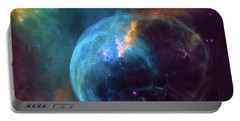 Portable Battery Charger featuring the photograph Bubble Nebula by Marco Oliveira