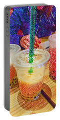 Bubble Tea For Three Portable Battery Charger