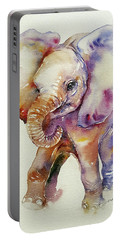 Bubbles Baby Elephant Portable Battery Charger