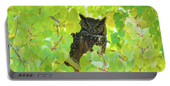 Bubo Virginianus Portable Battery Charger
