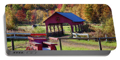 Portable Battery Charger featuring the photograph Buck Board Ready For Fall Colors by Jeff Folger