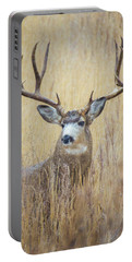 Buck In Snow Portable Battery Charger