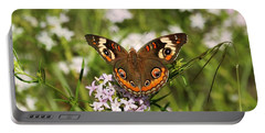 Buckeye Butterfly Posing Portable Battery Charger