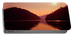 Portable Battery Charger featuring the photograph Buckhorn Lake Sunset by Thomas R Fletcher