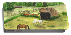 Bucks County Horse Farm Portable Battery Charger