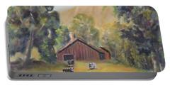 Bucks County Pa Barn Portable Battery Charger